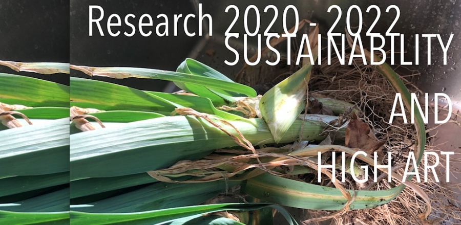 Research at Ekeby 2020-2022 - Reforming A Sector. Sustainability and High Art